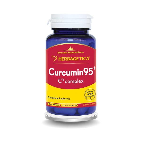 Supliment alimentar, Curcumin 95 C3 complex - 60 capsule [0]