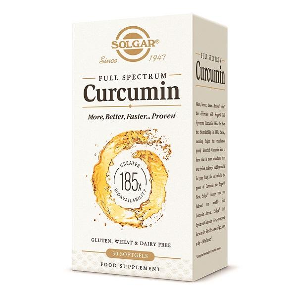 Supliment alimentar, Curcumina, Curcumin Full Spectrum - 30 capsule [0]