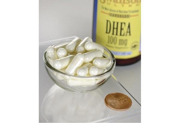 Supliment alimentar, Dehidroepiandrosterona (100 mg), Swanson Ultra DHEA - 60 capsule (60 doze) [2]
