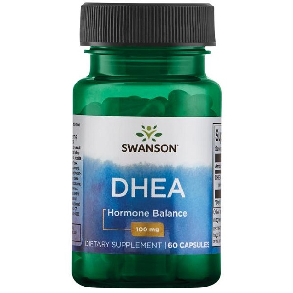 Supliment alimentar, Dehidroepiandrosterona (100 mg), Swanson Ultra DHEA - 60 capsule (60 doze) [0]