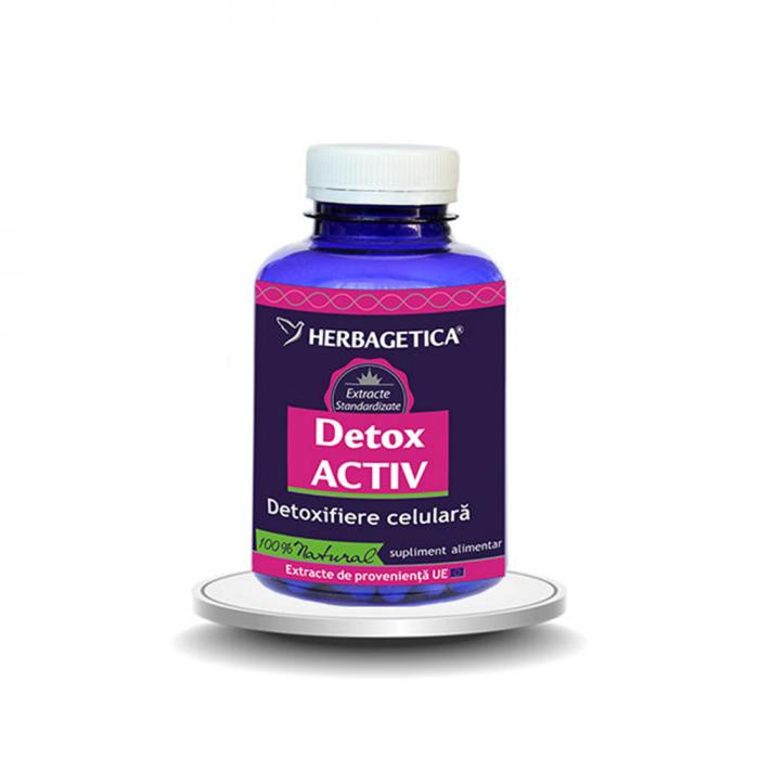 Supliment alimentar, Detox Activ - 120 capsule [0]