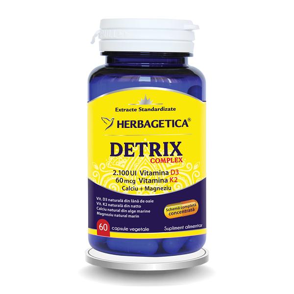 Supliment alimentar, Detrix Complex - 60 capsule [0]