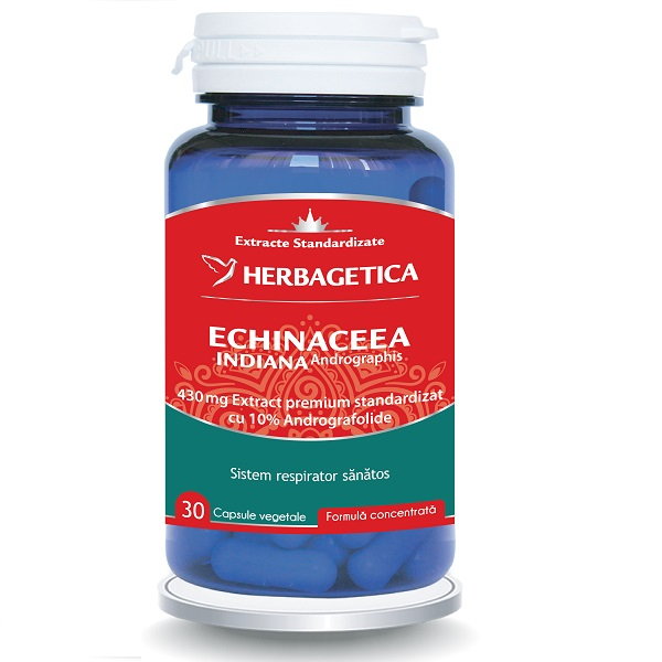Supliment alimentar, Echinaceea Indiana (Andrographis) - 30 capsule [0]