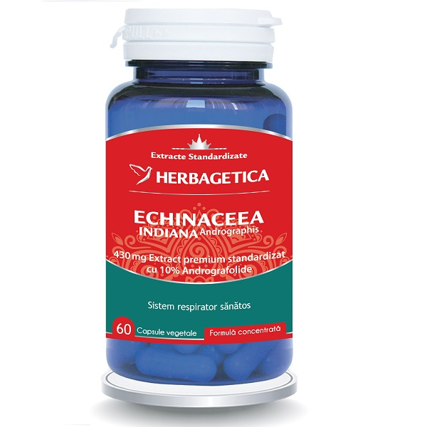 Supliment alimentar, Echinaceea Indiana (Andrographis) - 60 capsule [0]