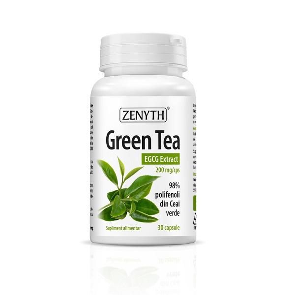 Supliment alimentar, Extract din frunze de Ceai Verde, Green Tea – EGCG Extract (200 mg) - 30 capsule [0]