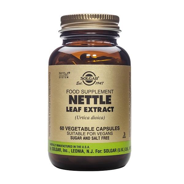 Supliment alimentar, Extract din frunze de Urzica, Nettle Leaf - 60 capsule [0]