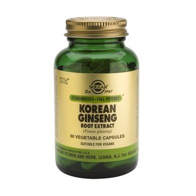 Supliment alimentar, Extract din radacina de Ginseng Coreean, Solgar Korean Ginseng Root Extract - 60 capsule [0]