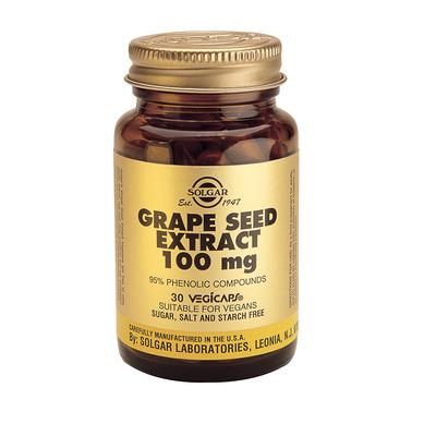 Supliment alimentar, Extract din seminte de struguri, Grape Seed Extract (100 mg) - 30 capsule [0]