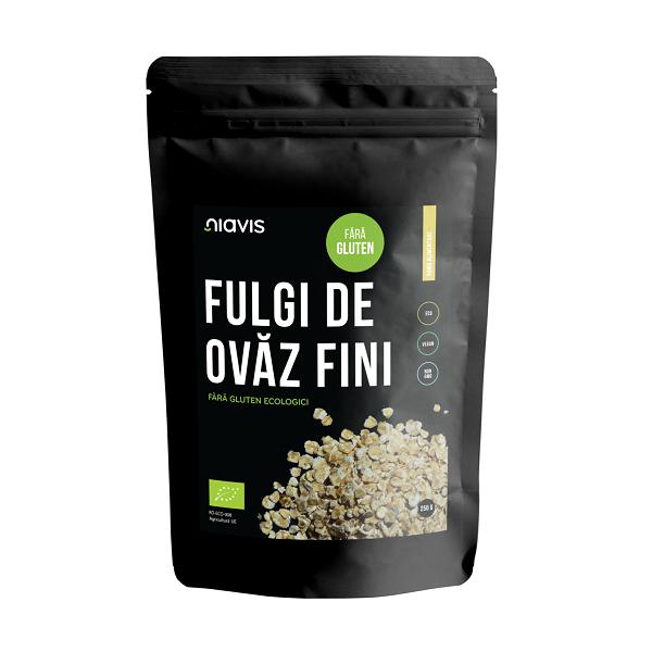 Fulgi de Ovaz Ecologici fara Gluten - 250 g [1]