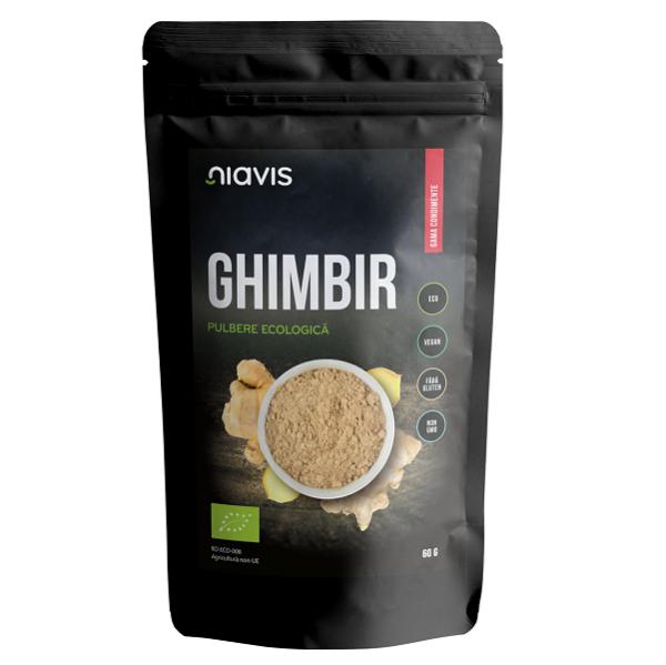 Ghimbir Pulbere Ecologica/BIO - 60 g [0]