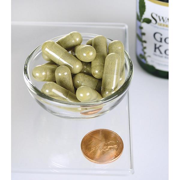 Supliment alimentar, Gotu Kola (435 mg), Swanson Full Spectrum Gotu Kola - 60 capsule (60 doze) [2]