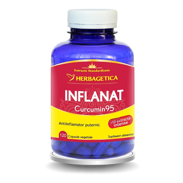 Supliment alimentar, Inflanat Curcumin 95 - 120 capsule [0]