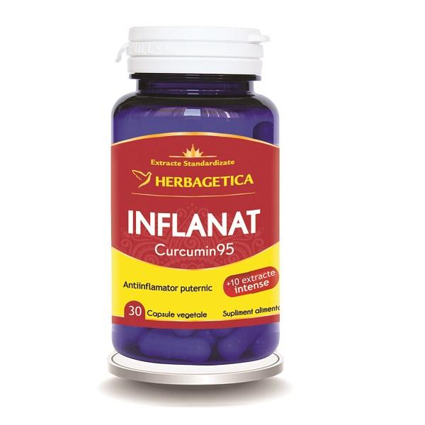 Supliment alimentar, Inflanat Curcumin 95 - 30 capsule [0]