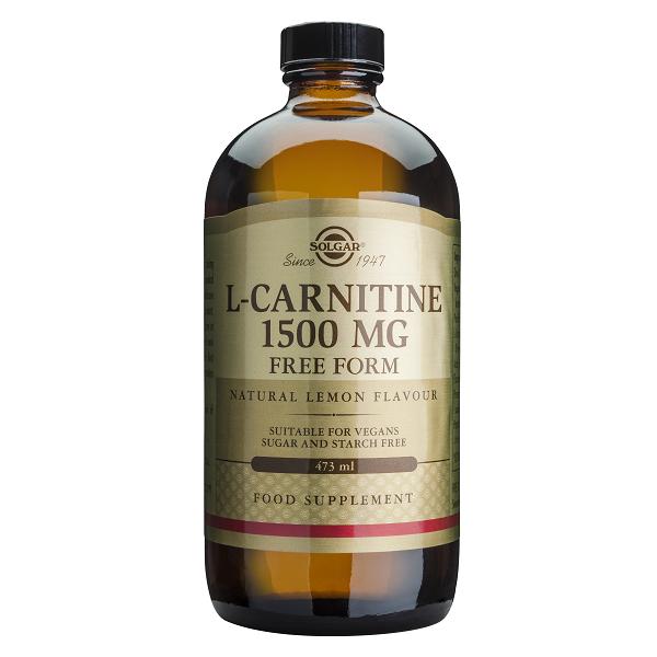 Supliment alimentar, L-Carnitina, Solgar L-Carnitine 1500 mg - 473 ml [0]