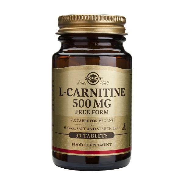 Supliment alimentar, L-Carnitina, L-Carnitine (500 mg) - 30 capsule [0]