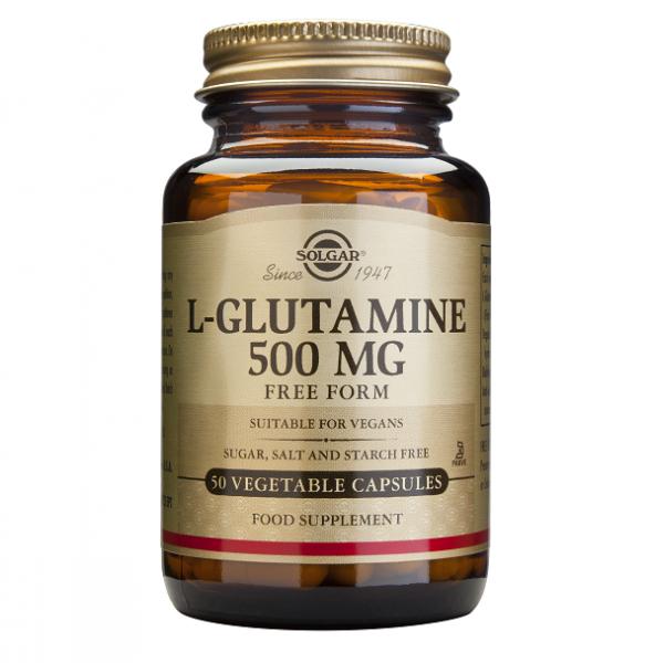 Supliment alimentar, Solgar L-Glutamine (500 mg) - 50 capsule [0]