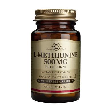 Supliment alimentar, L-metionina, L-Methionine (500 mg) - 30 capsule [0]