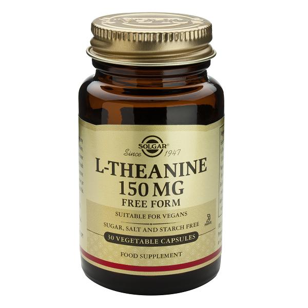 Supliment alimentar, L-Teanina, Solgar L-Theanine (150 mg) - 30 capsule [0]