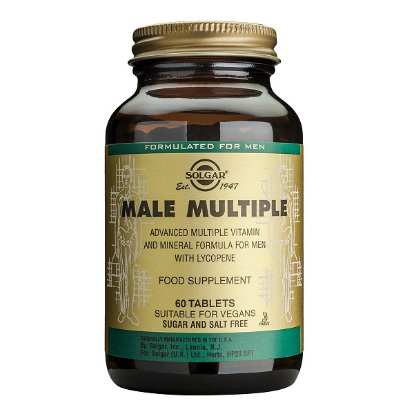 Supliment alimentar, Male Multiple - 60 tablete [0]