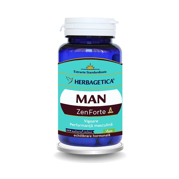 Supliment alimentar, Man Zen Forte - 60 capsule [0]