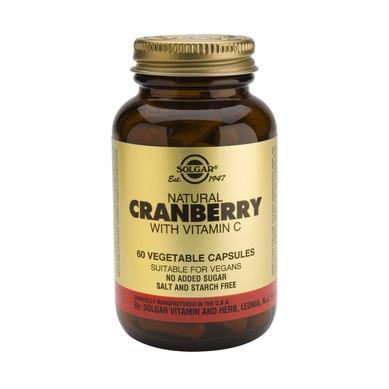 Supliment alimentar, Merisoare naturale cu Vitamina C, Cranberry Extract With Vit. C - 60 capsule [0]