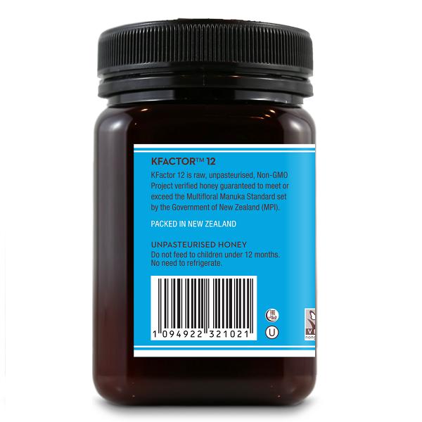 Supliment alimentar, Miere de Manuka KFactor 12 RAW - 500 g [1]