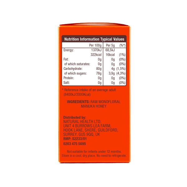 Supliment alimentar, Miere De Manuka KFactor 16 RAW - 24 plicuri x 5g [2]