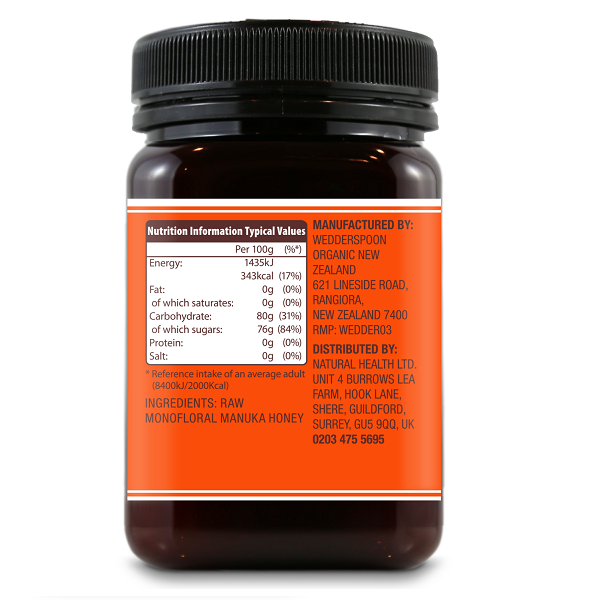 Supliment alimentar, Miere de Manuka KFactor 16 RAW - 500 g [2]