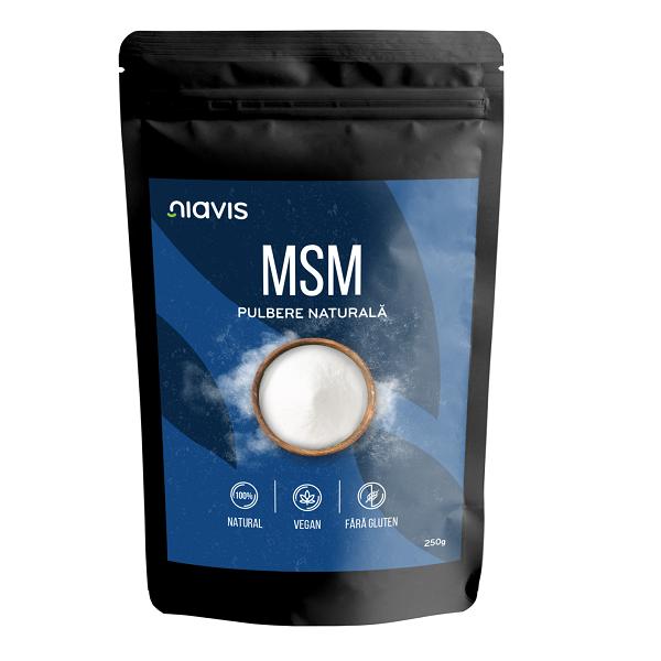 MSM (Metilsulfonilmetan) Pulbere 100% Naturala - 250 g [1]