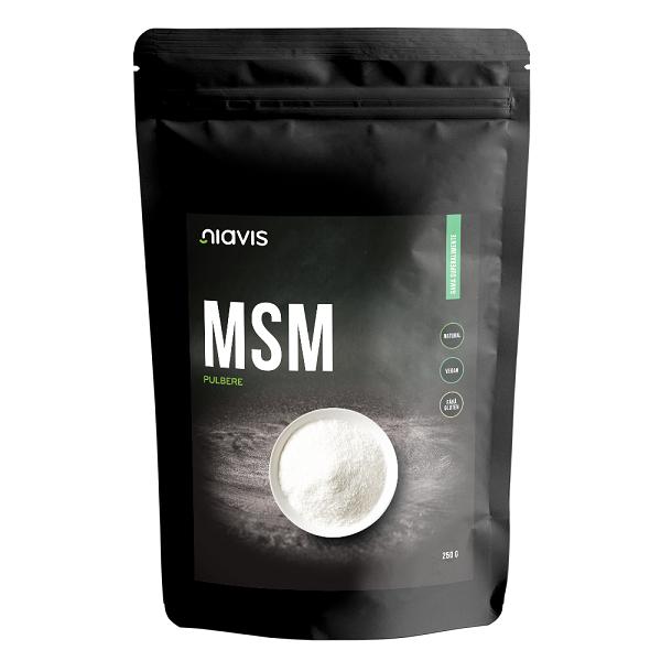 MSM (Metilsulfonilmetan) Pulbere 100% Naturala - 250 g [0]