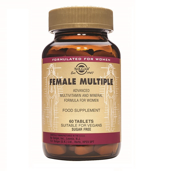 Supliment alimentar, Multivitamine Femei, Female Multiple - 60 tablete [0]