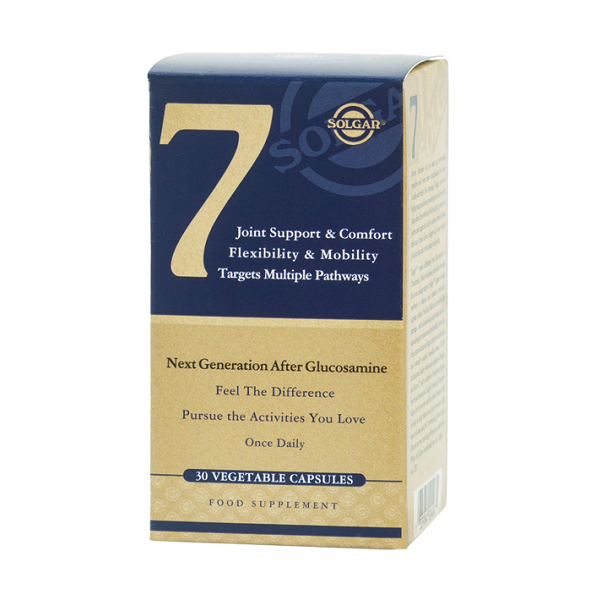 Supliment alimentar, Solgar No. 7 (Flexibilitate, Mobilitate si Suport articular) - 30 capsule [0]