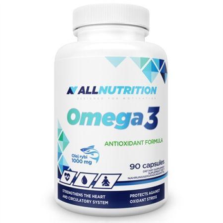 Supliment alimentar, Omega 3, EPA - 180 mg, DHA - 120 mg, 90 capsule moi (90 doze) [0]