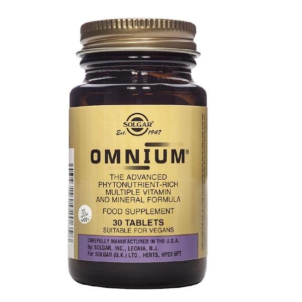 Supliment alimentar, Omnium - 30 tablete [0]