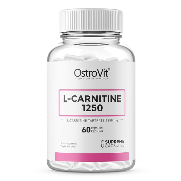 Arzator de Grasimi, L-Carnitina (1250 mg), OstroVit Supreme Capsules L-Carnitine 1250 - 60 capsule (60 doze) [0]