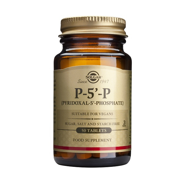 Supliment alimentar, P-5-P, Pyridoxal 5 Phos (50 mg) - 50 tablete [0]