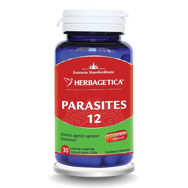 Supliment alimentar, Parasites 12 Detox Forte  - 30 capsule [0]