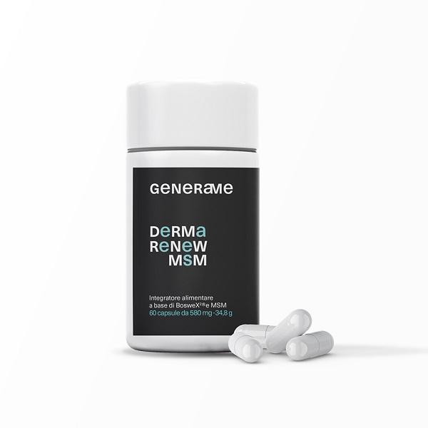 Supliment alimentar, Piele, Par, Unghii, Articulatii, Generame Derma Renew MSM - 60 capsule [0]