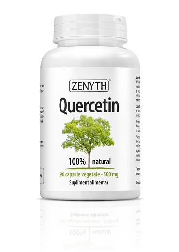 Supliment alimentar, Quercetin (500 mg) - 90 capsule vegetale [0]