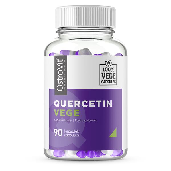 Supliment alimentar, Quercetina, OstroVit Quercetin Vege - 90 capsule (90 doze) [0]