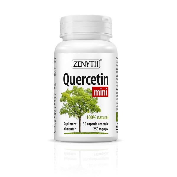 Supliment alimentar, Quercetina, Quercetin Mini (250 mg) - 30 capsule [0]
