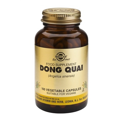 Supliment alimentar, Radacina de Dong Quai (Angelica sinenis) 200 mg - 100 capsule [0]