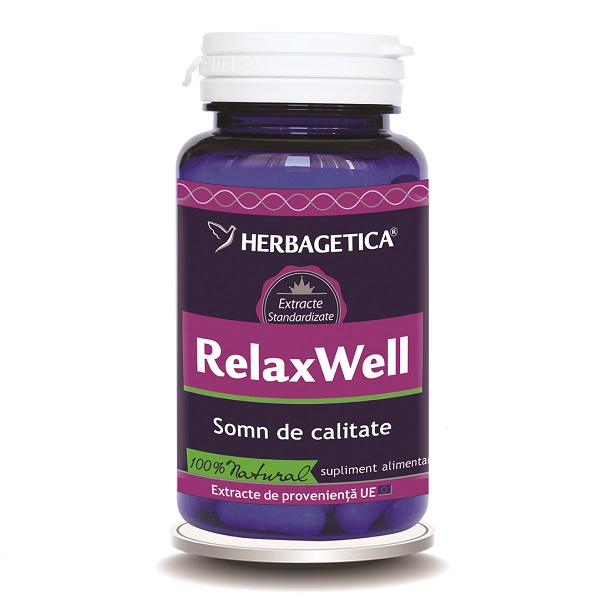 Supliment alimentar, Relax Well - 60 capsule [0]