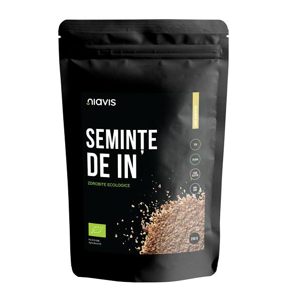 Seminte de IN zdrobite Ecologice/Bio - 250 g [0]