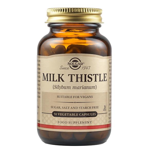 Supliment alimentar, Silimarina, Solgar Milk Thistle - 50 capsule [0]