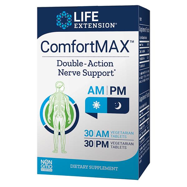 Supliment alimentar, Sistem Nervos, Antiinflamator Celular, Life Extension ComfortMAX™ - 30+30 comprimate [0]