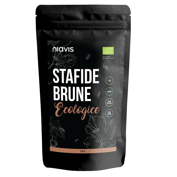 Stafide Brune Ecologice/BIO - 125 g [0]