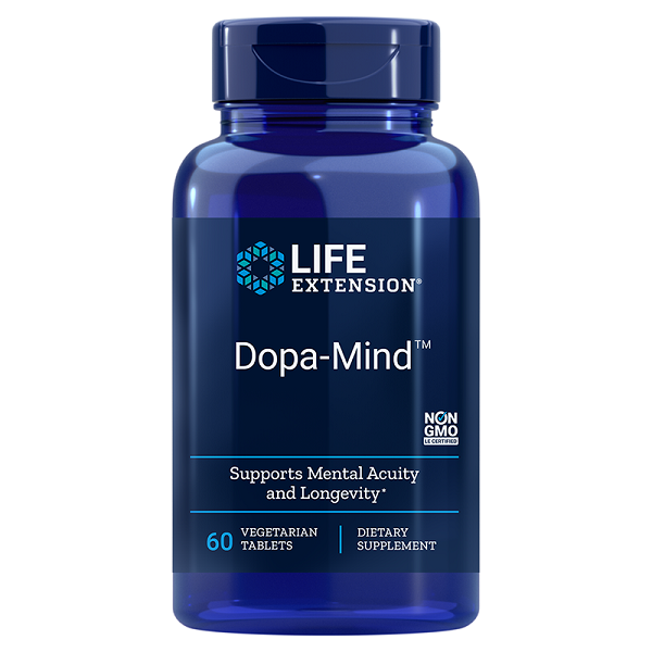 Supliment alimentar, Suport pentru Functia Cognitiva, Life Extension Dopa-Mind™ - 60 comprimate [0]