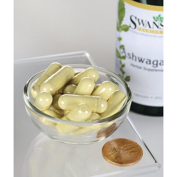 Supliment alimentar, Swanson Ashwagandha (900 mg) - 100 capsule (50 doze) [2]