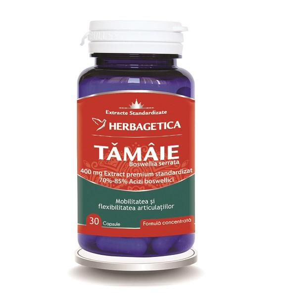 Supliment alimentar, Tamaie - Boswellia serrata - 30 capsule [0]